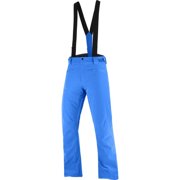 Modré pánské lyžařské kalhoty Salomon - velikost XL