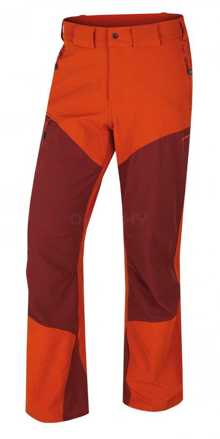 Hnědé pánské kalhoty Husky - velikost M