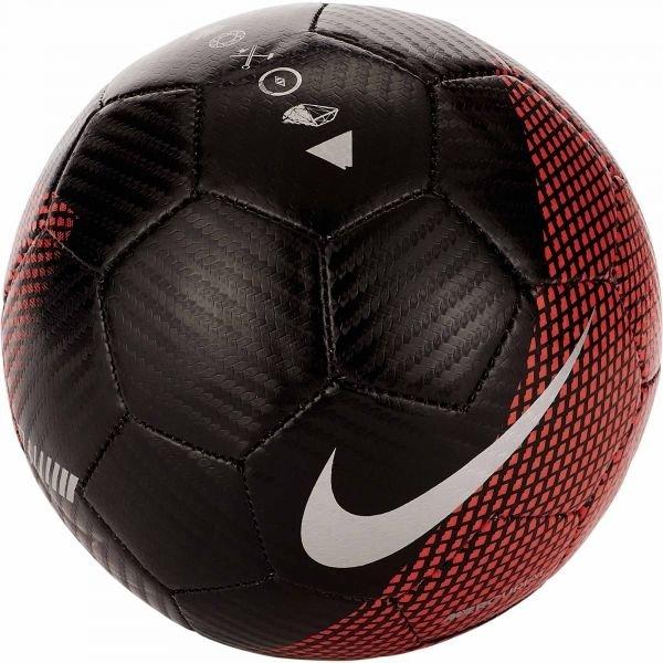 Černo-červený fotbalový míč Nike