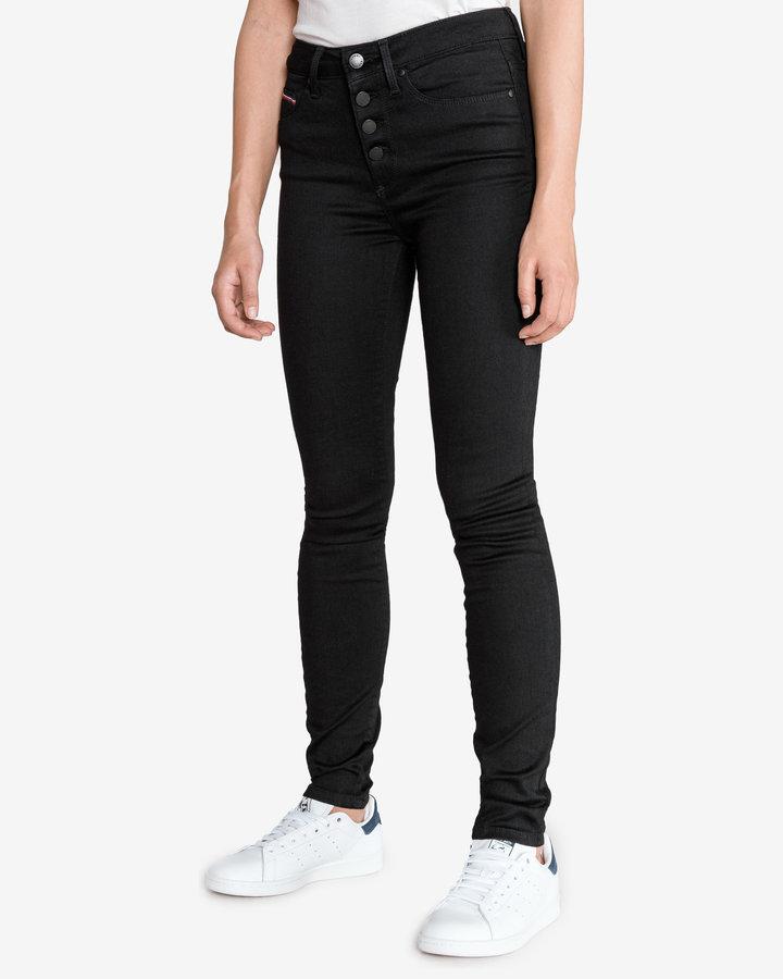 Černé dámské džíny Tommy Hilfiger