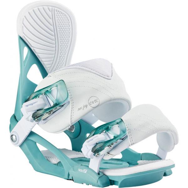 Bílo-modré vázání na snowboard Head