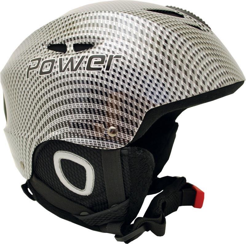 Černá lyžařská helma Sulov - velikost 55-56 cm