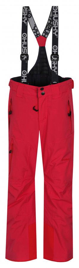 Růžové dívčí lyžařské kalhoty Husky - velikost 152