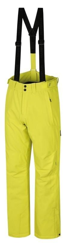 Žluté pánské lyžařské kalhoty Hannah