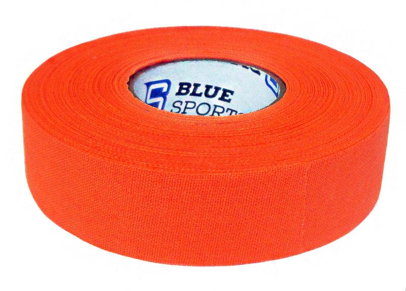 Hokejová páska - Izolace na hokejky Blue Sports neon oranžová 25 m Barva: neon oranžová