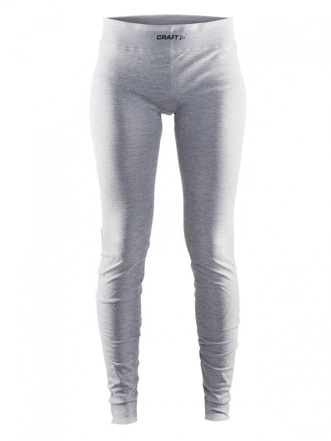 Šedé dámské termo kalhoty Craft - velikost M