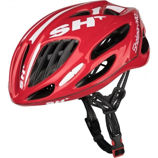 Červená cyklistická helma Limar