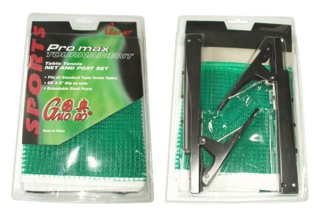 Síťka na stolní tenis - ACRA G1852 Držák se síťkou na stolní tenis-rychloupínací