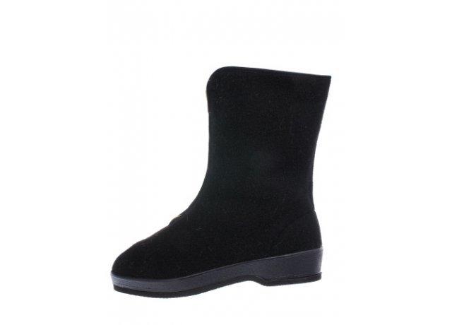 Černé dámské zimní boty