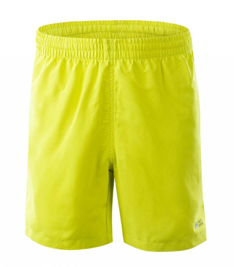 Žluté dětské chlapecké nebo dívčí kraťasy Aquawave