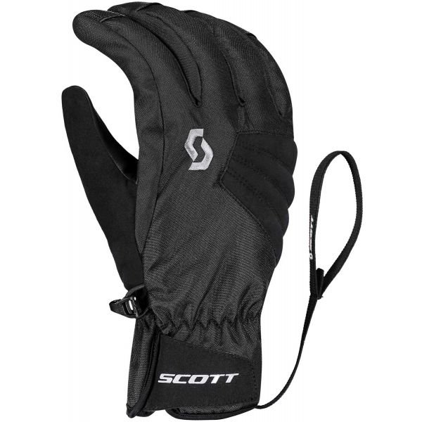 Černé pánské lyžařské rukavice Scott