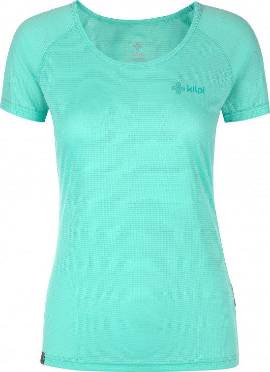 Tyrkysové dámské běžecké tričko Kilpi - velikost 38