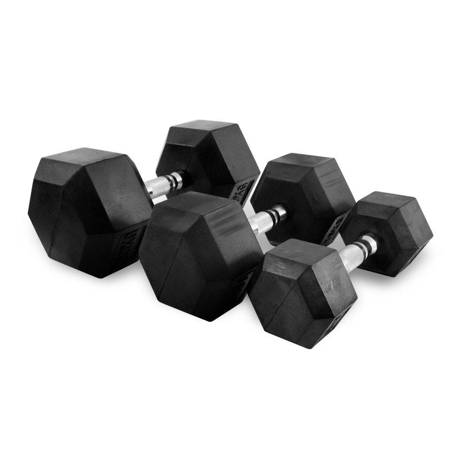 Sada činek - Sada jednoručních činek TUNTURI Hexa 1-10 kg (10 párů)
