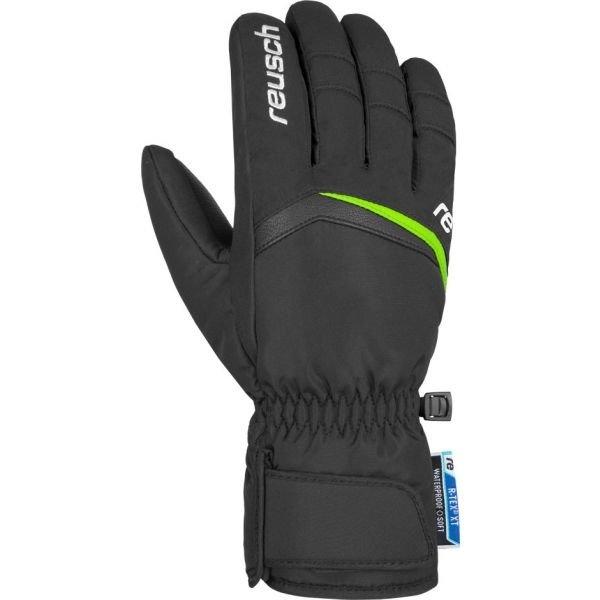 Černé pánské lyžařské rukavice Reusch - velikost 9,5