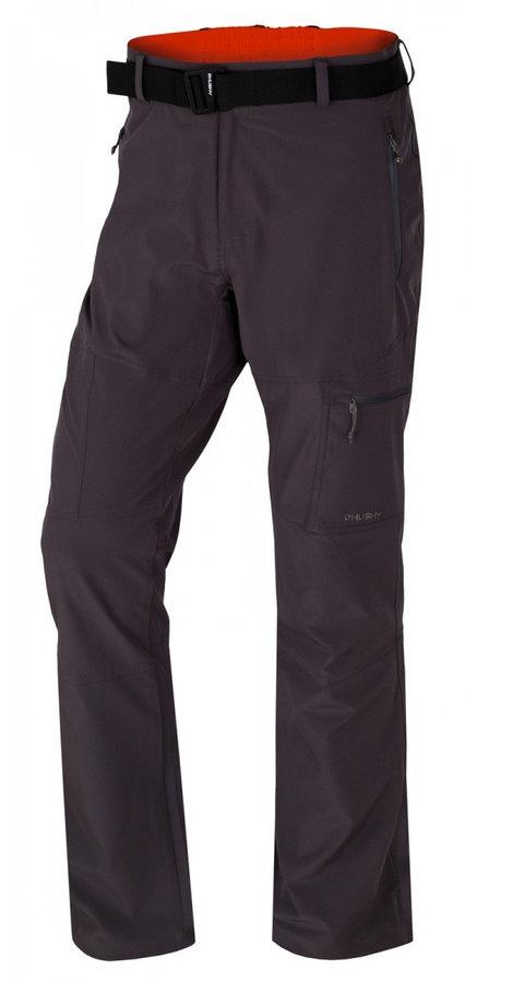 Černé pánské kalhoty Husky