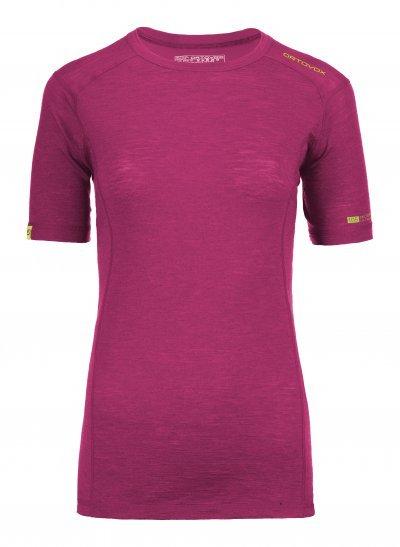 Fialové dámské termo tričko Ortovox - velikost L