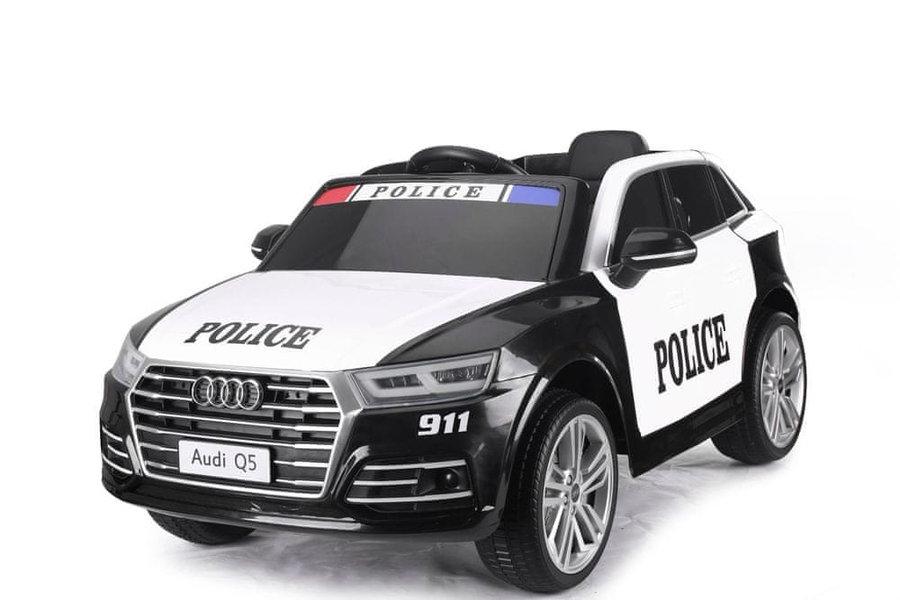 Bílo-černé dětské elektrické autíčko Audi Q5, Beneo