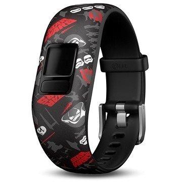 Černo-červený fitness náramek VivoFit Junior 2, Garmin