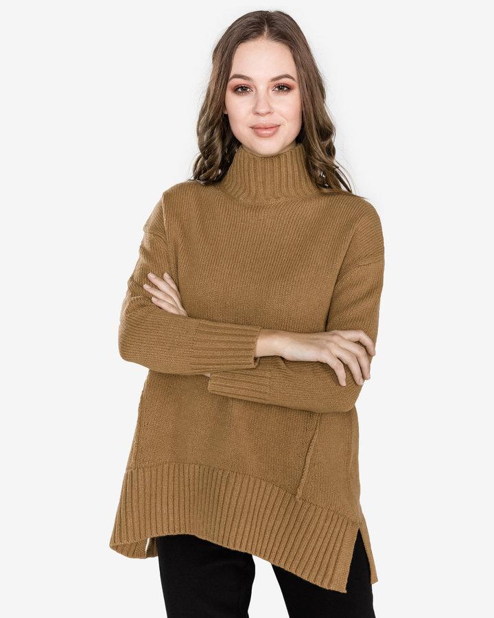 Hnědý dámský svetr French Connection