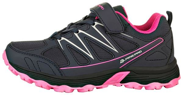 Černé dětské trekové boty Alpine Pro - velikost 33 EU