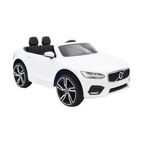 Bílé dětské elektrické autíčko Volvo S90, Made