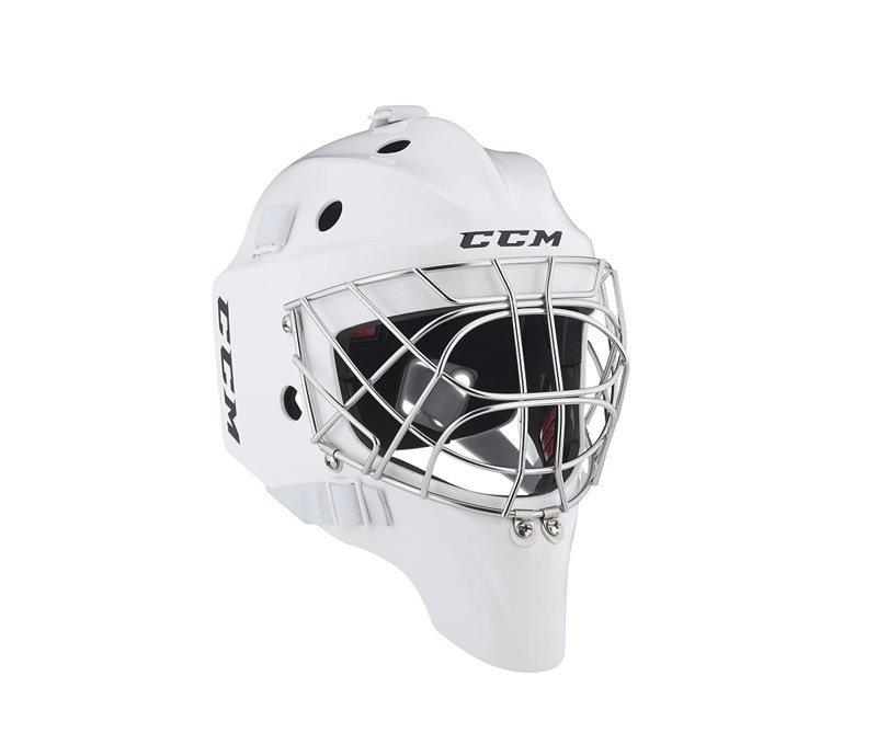 Potítko - Maska CCM 1.9 SR Barva: Bílá, Velikost: 54-58cm, Velikost Výrobce: S