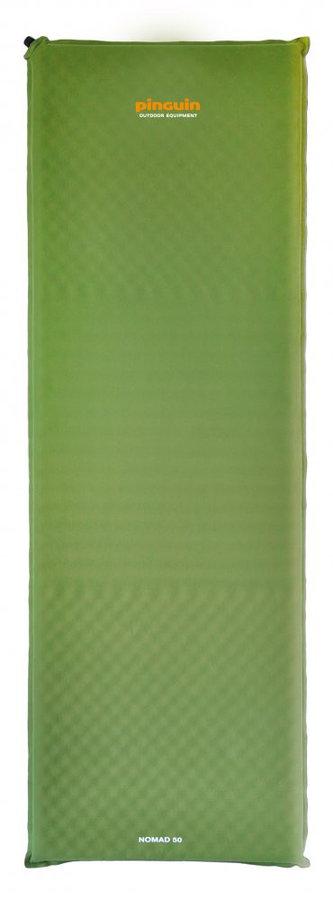 Zelená samonafukovací karimatka Pinguin - tloušťka 7,5 cm