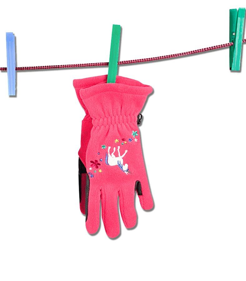 Jezdecké rukavice - RUKAVICE UNICORN AZAELA ELT DĚTSKÉ 5-6 LET