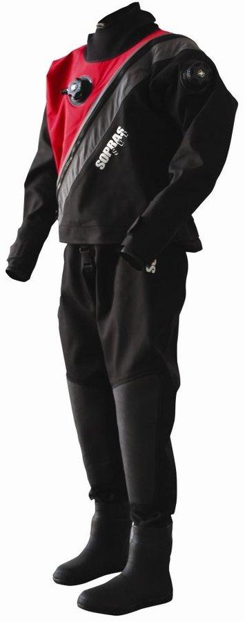 Černý pánský suchý oblek Soprassub