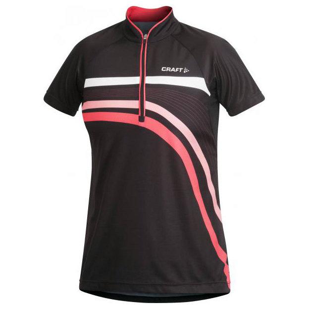 Černý dámský cyklistický dres Craft