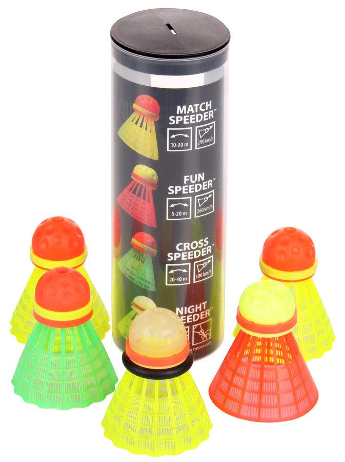 Různobarevný speedmintonový míček Speedminton - 5 ks