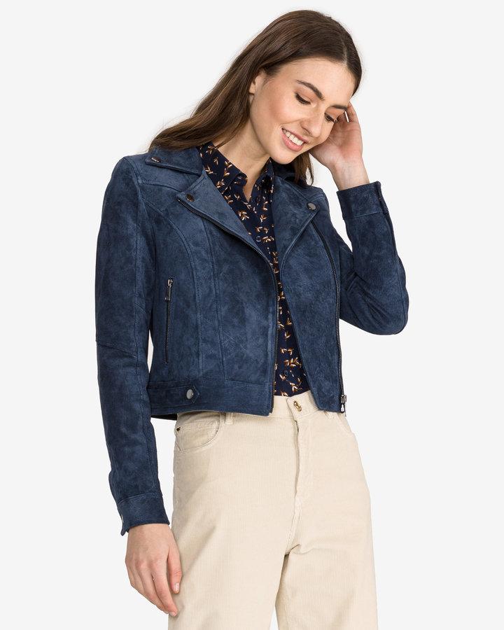 Modrá dámská bunda Vero Moda