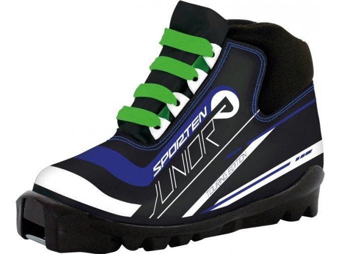 Černé dětské boty na běžky Sporten