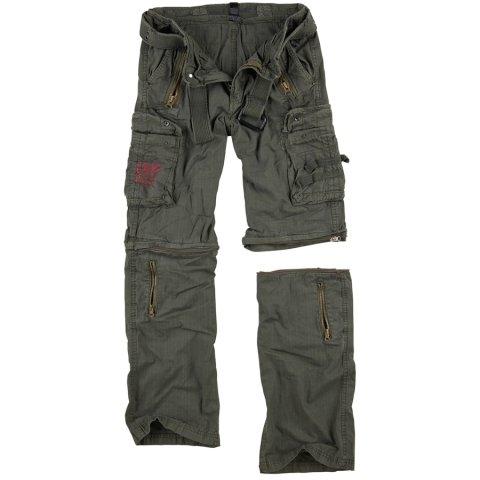 Kalhoty - Kalhoty odepínací ROYAL OUTBACK - ROYAL GREEN