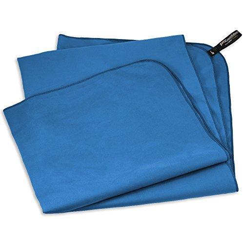 Modrý rychleschnoucí ručník Camp - velikost XL