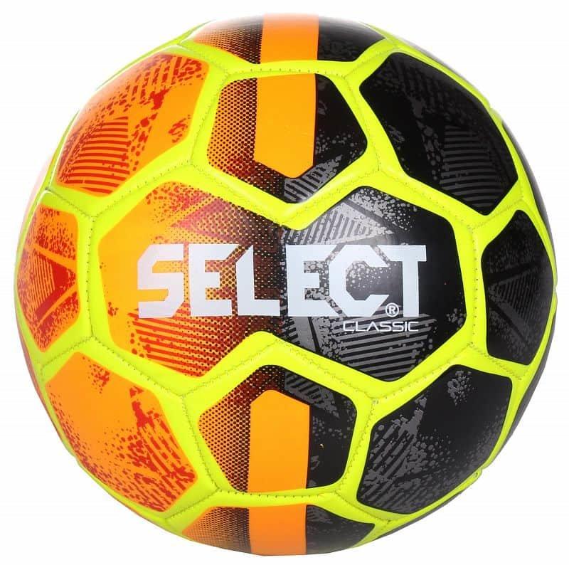 Fotbalový míč - FB Classic 2019 fotbalový míč barva: oranžová-černá;velikost míče: č. 4