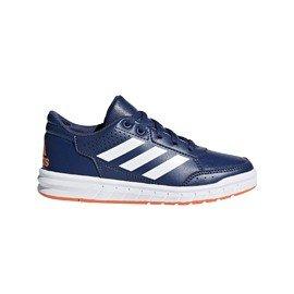 Modré dětské chlapecké nebo dívčí tenisky Adidas