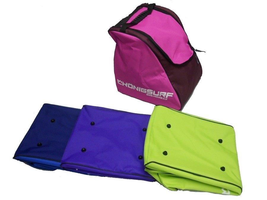 Růžová taška na lyžařské boty pro 1 pár König