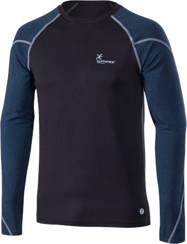Černé pánské běžecké tričko Klimatex - velikost S