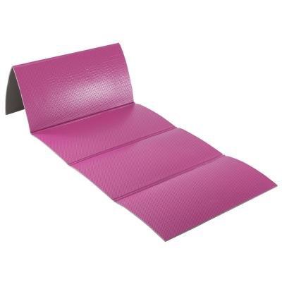 Růžová podložka na cvičení Domyos - tloušťka 0,8 cm