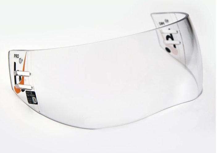 Plexi na hokejovou helmu - Plexi Hejduk MH 800 PRO LINE Barva: čirá