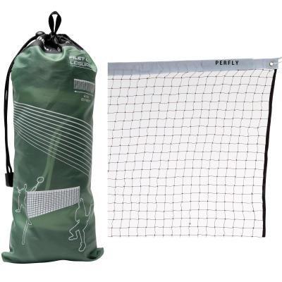 Hnědá síť na badminton Perfly