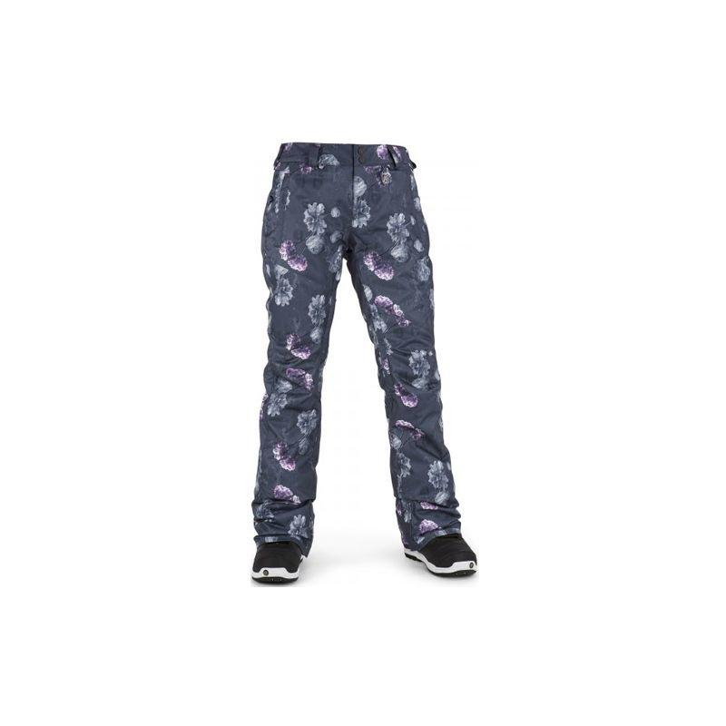 Šedé dámské snowboardové kalhoty Volcom - velikost XS