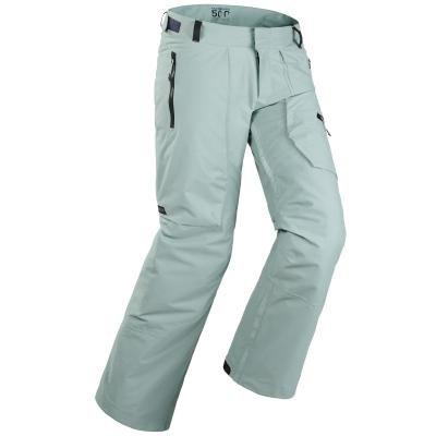 Zelené pánské snowboardové kalhoty Wed'ze