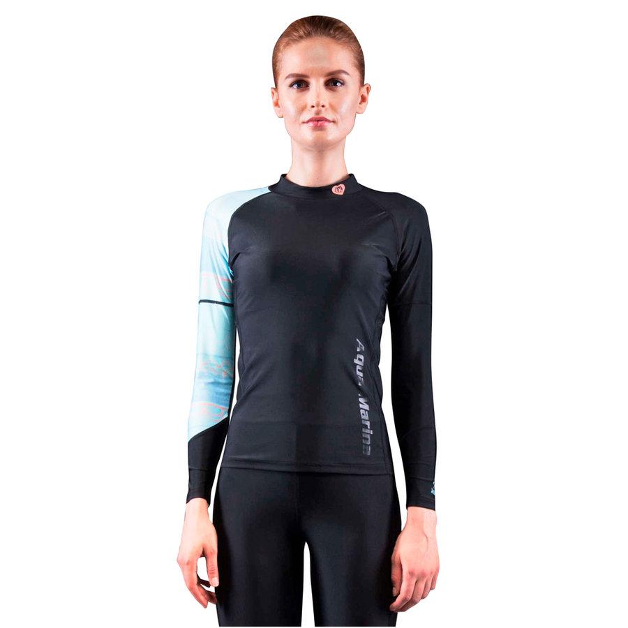 Dámské lycrové tričko Illusion, Aqua Marina