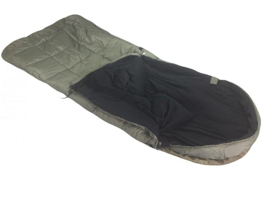 Khaki spací pytel Sedco - délka 225 cm
