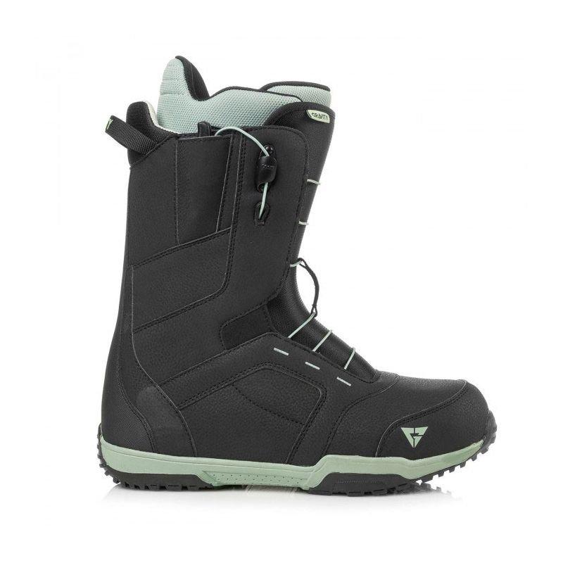 Černé pánské boty na snowboard Gravity