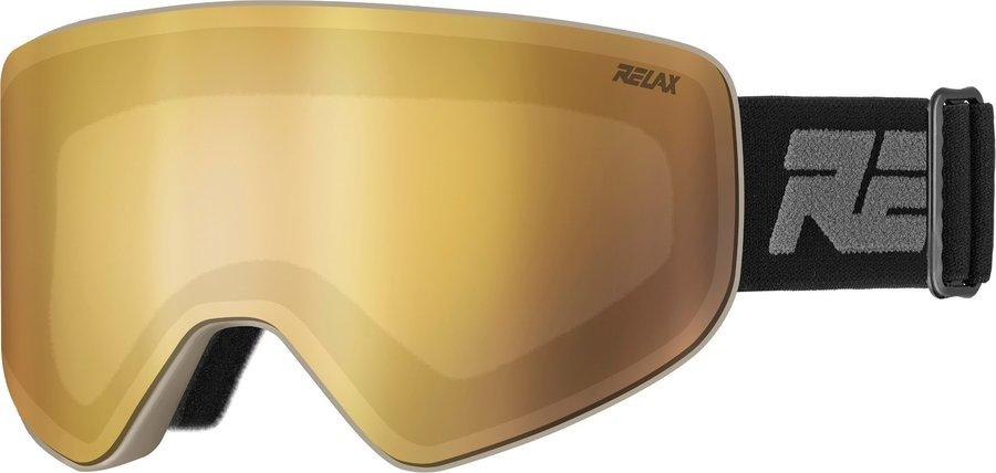 Černé lyžařské brýle Relax