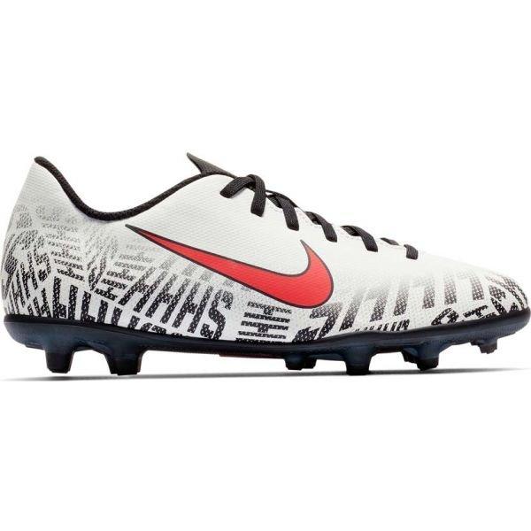Bílé chlapecké kopačky lisovky Nike