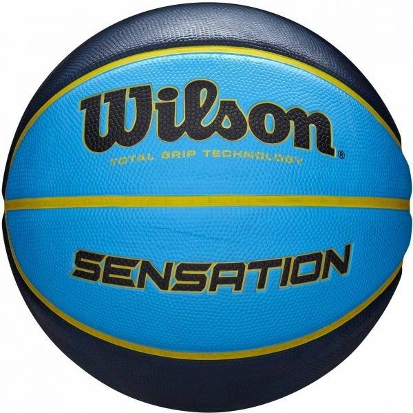 Modrý basketbalový míč Wilson